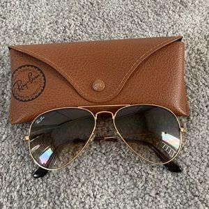 Ray-Ban Small Frame Classic Aviator Sunglasses